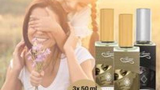 3x 50 ml Damen- oder Herrenparfum