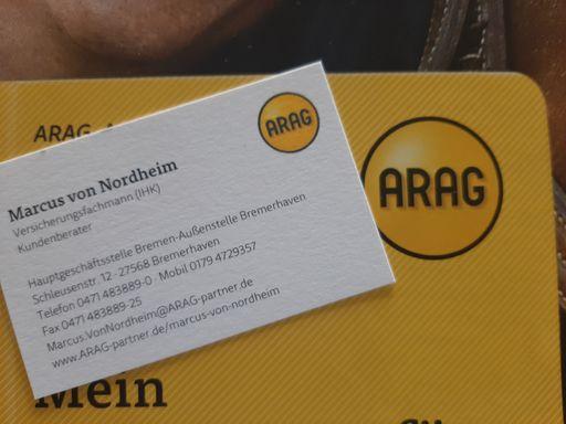 ARAG Versicherung Marcus von Nordheim