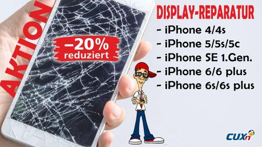 iPhone Display Reparatur, inkl. Premium Display